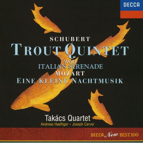 タカーチ弦楽四重奏団 - シューベルト:《ます》/モーツァルト:《アイネ...   《アイネ・ク