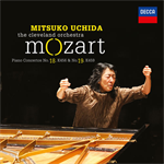 内田光子 - モーツァルト:ピアノ協奏曲第18番・第19番