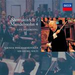 サー・ゲオルグ・ショルティ - ショスタコーヴィチ:交響曲第5番、メンデルスゾーン:交響曲第4番《イタリア》