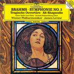 ジェイムズ・レヴァイン - ブラームス:交響曲第3番、悲劇的序曲、アルト・ラプソディ