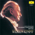 ヴィルヘルム・ケンプ - バッハ:ゴルトベルク変奏曲