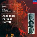 イツァーク・パールマン - ラヴェル:ピアノ三重奏曲/ドビュッシー:ヴァイオリン・ソナタ、他