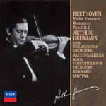 アルテュール・グリュミオー - ベ-ト-ヴェン:ヴァイオリン協奏曲、ロマンス第1番・第2番