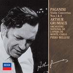 アルテュール・グリュミオー - パガニ-ニ:ヴァイオリン協奏曲第1番・第4番