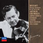 アルテュール・グリュミオー - モ-ツァルト:弦楽五重奏曲集