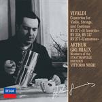 アルテュール・グリュミオー - ヴィヴァルディ:ヴァイオリン協奏曲集