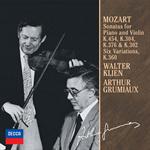 アルテュール・グリュミオー - モーツァルト:ヴァイオリン・ソナタ第26番・第28番・第32番・第40番 他
