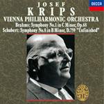 ヨーゼフ・クリップス - ブラームス:交響曲第1番、シューベルト:交響曲第8番《未完成》