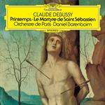 ドビュッシー:交響的断章《聖セバスティアンの殉教》、2つのファンファーレ、交響組曲《春》