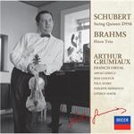 アルテュール・グリュミオー - シューベルト:弦楽五重奏曲/ブラームス:ホルン三重奏曲
