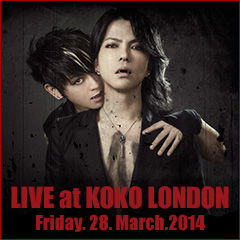 LIVE at KOKO LONDON Friday. 28. March.2014