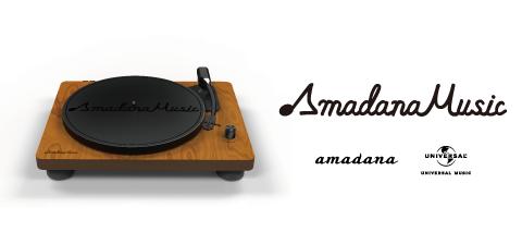 amadana×ユニバーサル ミュージックのコラボプロジェクト「Amadana Music」スタート!